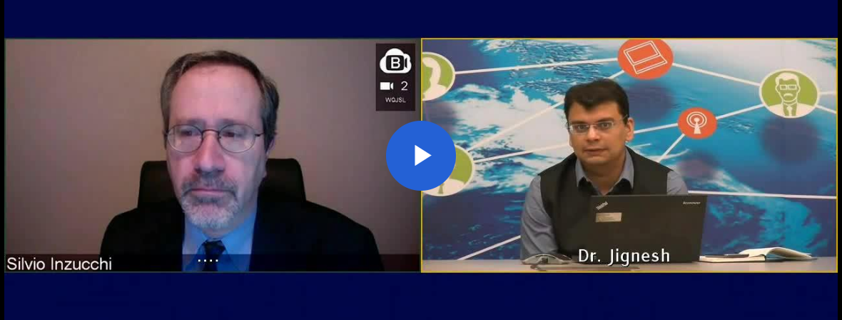 International Expert Dr. Silvio Inzucchi and Dr. J C Mohan on clinical practice management of T2DM from Cardiovascular risk perspective